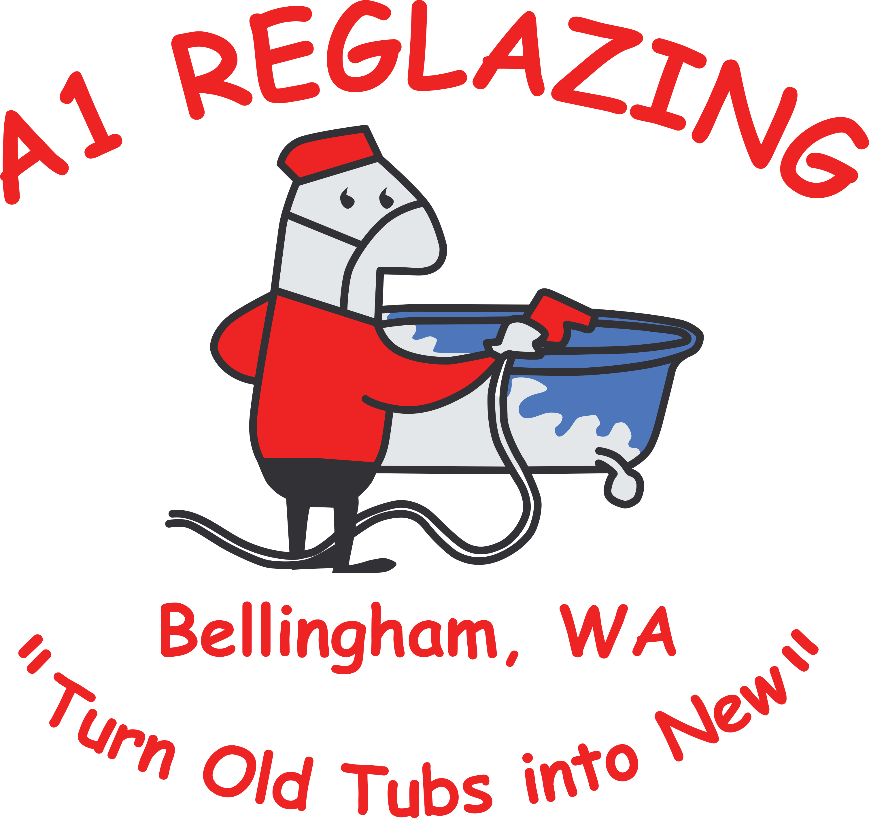 A1 Reglazing | Bellingham, WA | Bathtub Refinishing